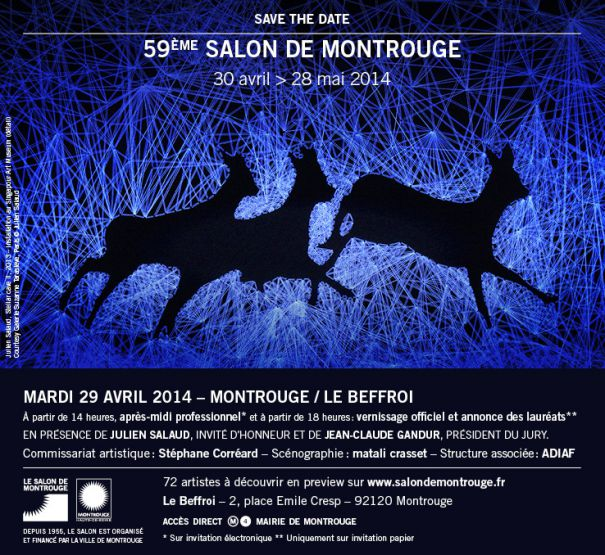 Lien vers le site du Salon de Montrouge